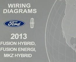 2013 Ford Fusion Hybrid Energi Lincoln MKZ Hybrid Service Wiring Diagram... - $13.85