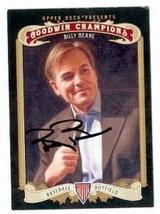 Billy Beane autographed Baseball Card (Oakland Athletics GM Money Ball) 2012 Upp - $18.00