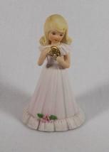 ENESCO 1981 GROWING UP BIRTHDAY GIRLS AGE 9 BLONDE KEEPSAKE GIFT MEMORIES - $9.99