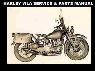 harley davidson wla service parts manua ls and 50 similar items rh bonanza com