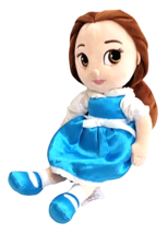 Disney Belle Plush Doll Blue Beauty and the Beast Animator's Collection ... - $29.47