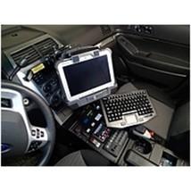 HAVIS C-DMM-123 Monitor Mount For 2013-2017 Ford Interceptor Utility - Black - $271.99