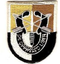 """2"""" Army 3RD Special Forces Group Crest Embroidered Patch - $17.09"""