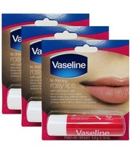 Vaseline Lip Therapy, 0.16oz, Rosy Lips (Pack of 3) - $6.92