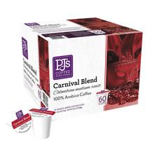 SALE PJ's Coffee Carnival Blend 60 K-Cup Pods  - $27.79