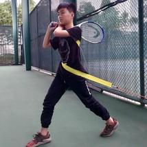 Tennis Trainer Belt Swivel Rotating Swing Training Tool Home Exercise Eq... - $30.68