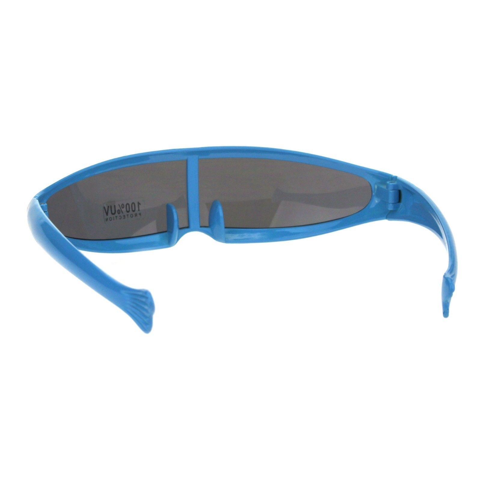 Cyclops Robot Costume Sunglasses Party Rave Futuristic Shades UV 400