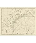 Louisiana New Leon West Coast - Jefferys 1775 - 23.00 x 29.16 - $36.58+