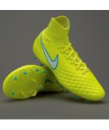 Nike Womens sz 10.5 Magista Orden II FG Firm Ground Soccer Cleats Volt/W... - $109.95