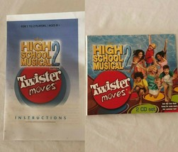 Twister Moves Board Game Disney High School Musical 2 Replacement Parts Choice - $4.99+