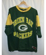 vintage Green Bay Packers Mid Length Sleeves Shirt  - $24.74