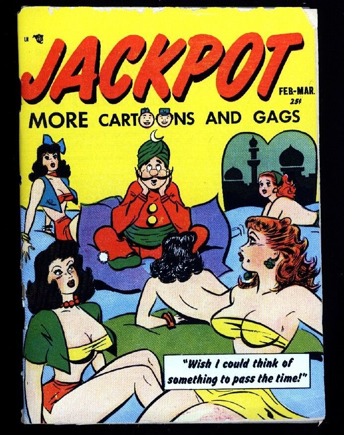 Primary image for JACKPOT-#1-1952-JOKE DIGEST-SPICY CARTOONS-SOUTHERN STATES