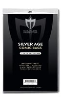 (200) Max Pro Silver Age Comic Book Bags - Ultra Clear Protection - (Qty... - $15.49