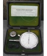 Vintage Hasler Speed Indicator Hasler - Tel Made In Switzerland W/Case - $48.00