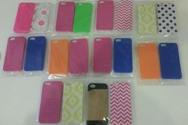 GEMS 20 PACK IPHONE 5 DESIGNER CELL PHONE CASE LOT NEW - $18.43