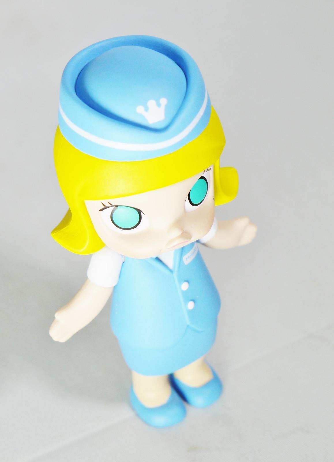 Hong Kong POP MART Kennyswork BLOCK Little Molly Career Series Stewardess Blue