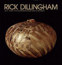 Rick Dillingham-Pottery Still Life-1979 Poster - $70.13