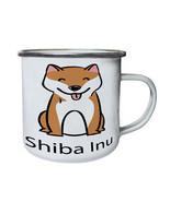 I Love Dogs Shiba Inu Dog Lovers New Retro,Tin, Enamel 10oz Mug c882e - $13.13