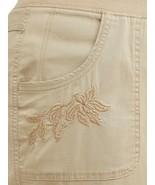 Terra & Sky Cargo Capri's ~ Women's Plus Size 4X (28W-30W) ~ Brownstone ... - $18.75