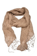 Polo Ralph Lauren Mens Striped Scarf Solid Brown Size OS - $50.20