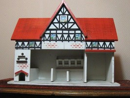 Antique 1920s Wooden Gottschalk Germany German Farm Stables Doll House - $603.37