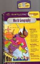 "LeapFrog QuantumPad "" World Geography"" - $4.75"