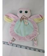 "Bearington Baby Pink Owl Lovey Plush Knotted 8"" Stuffed Animal Toy - $7.95"
