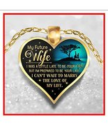 Great Idea For Wife gifts Necklace – To My Wife Pendant - My Future Wife... - $19.95