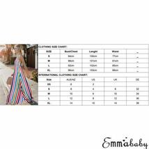 Women's Trendy Summer Rainbow Stripe Maxi Sundress image 5