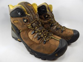 "Keen Pittsburgh 6"" Size 9.5 M (D) EU 42.5 Men's WP Steel Toe Work Boots 1007025"