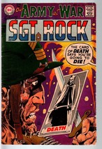 OUR ARMY AT WAR #188 1968-DC WAR COMIC-SGT. ROCK-VG VG - $17.38