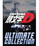 Anime DVD Initial D Series Season 1-6 + Battle Stage + Extra Stage + Leg... - $56.99