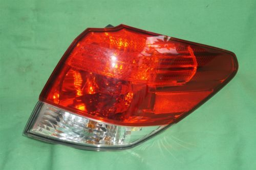 2010-12 Subaru Outback Wagon Outer Taillight Lamp Right Passenger Side - RH