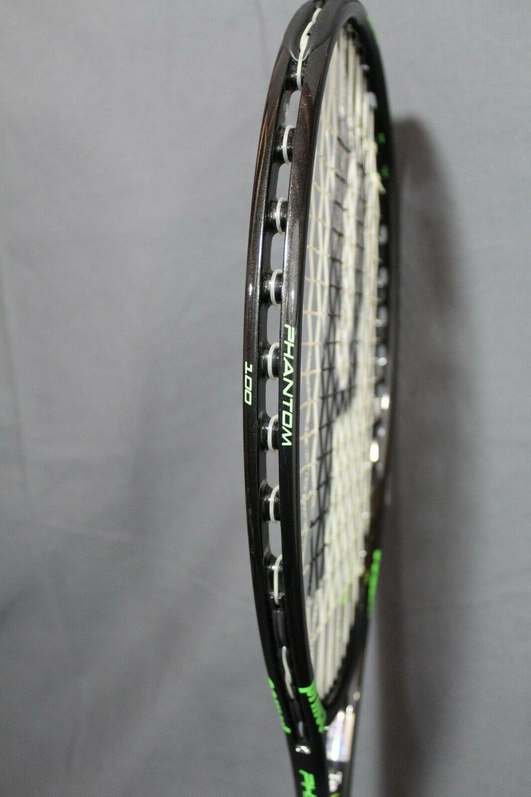 NEW Prince Textreme Phantom 100 Tennis Racquet 4 3/8 Strung