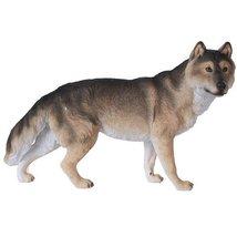 Grey Wolf Figurine Wildlife Collection Statue 12 Inch Lifelike Collectib... - £17.09 GBP