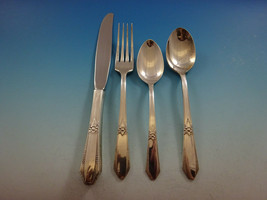 Laurier by Northumbria Sterling Silver Flatware Set Service 17 Pieces Scarce - $850.00