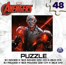 Marvel Avengers 48 Piece Jigsaw Puzzle - v12 - $10.40