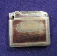 Vintage 1940s RONSONS ADONIS Cigarette Lighter SS Engraved w/ Initials EHN - $14.21