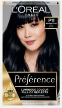 L'Oreal Preference Infinia Permanent Hair Dye P11 MANHATTAN Deeply Wicke... - $20.80