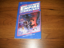 The Empire Strikes Back Paperback Novel - Glut -First Edition- 28392-Sta... - $22.50