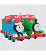 2018 Hallmark Thomas and Friends™ Thomas and Percy Ornament - $17.81