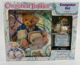 Cherished Teddies Computer Set Terry 686999 1999  New in Box Mouse Pad - $12.86