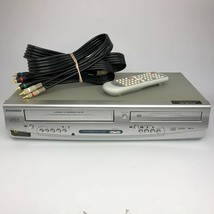 Sylvania DV220SL8 VCR/DVD Combo VHS Cassette Player - Remote - Tested & ... - $70.11