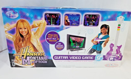 Disney Hannah Montana Pop Tour Guitar Kids All in 1 Video Game Songs Multiplayer - $69.29