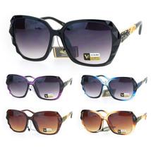 Womens Pyramid Stud Rock Jewel Thick Plastic Butterfly Sunglasses - $12.95