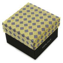 Berlioni Men's Silk Neck Tie Accessory Box Set With Cufflinks & Pocket Square image 13