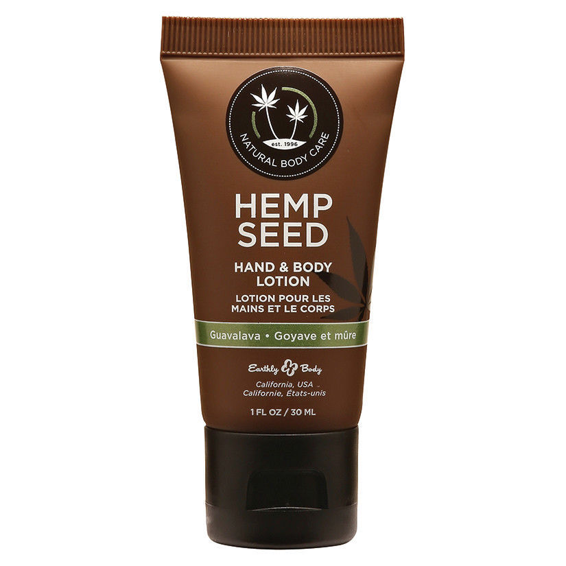 Earthly Body Hemp Seed Lotion-Guavalava 1oz 2 PIECES