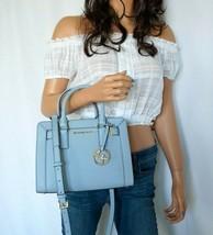 Michael Kors Dillon Top Zip Saffiano Leather SM Satchel Shoulder Bag Pal... - $98.99