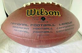 DAN MARINO / AUTOGRAPHED FULL SIZE NFL LOGO WILSON BRAND FOOTBALL / MARINO HOLO image 3
