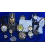 WHOLESALE Watch Lot FLUVA BIRKS LONGINES Art Deco DOXA 15 PCS s/Work /re... - $495.00